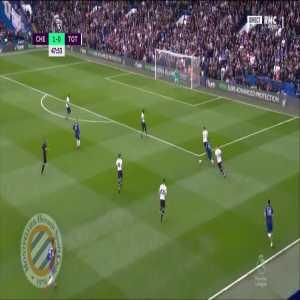 Chelsea [2]-0 Tottenham : Marcos Alonso 48'