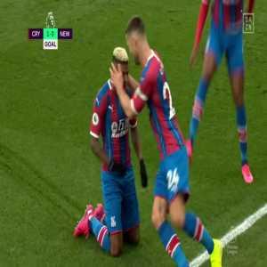 Crystal Palace 1-0 Newcastle United: Van Aanholt FK