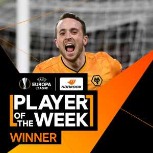 Diogo Jota is Europa League Player of the Week!