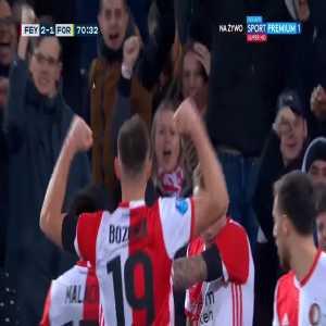 Feyenoord [2]-1 Fortuna Sittard - Róbert Boženík 71'