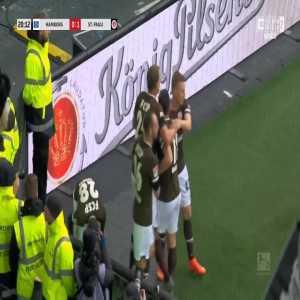 Hamburg 0-1 St. Pauli - Henk Veerman 20'