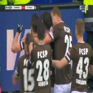 Hamburg 0-2 St. Pauli - Matt Penney 29'