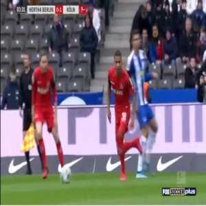 Hertha 0-1 Cologne - Jhon Cordoba 4'