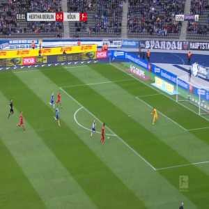 Hertha BSC 0-1 Köln - J. Cordoba 4'