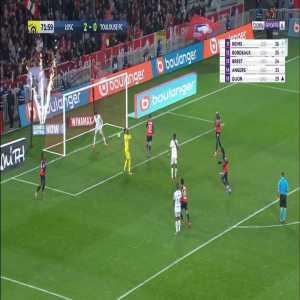 Lille 3-0 Toulouse - Renato Sanches 72'