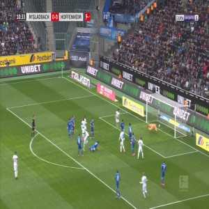 Monchengladbach [1] - 0 Hoffenheim - Ginter 11'