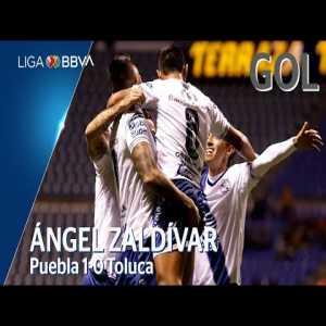 Puebla [1] - 0 Toluca (Á. Zaldívar 38')
