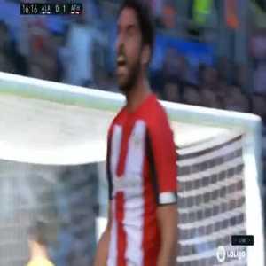 Alaves 0-1 Athletic Bilbao - Raul Garcia 17'