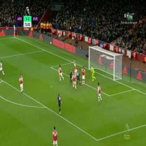 Bernd Leno save vs Everton
