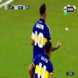 Carlos Tevez golazo - Boca Juniors [1]-0 Godoy Cruz