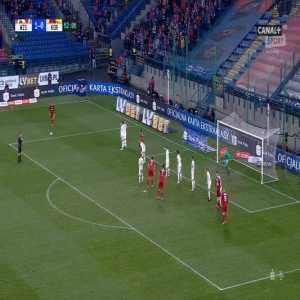 Fantastic goal from free kick, Wisła Kraków - Korona Kielce [2]-0, Jakub Błaszczykowski 63'