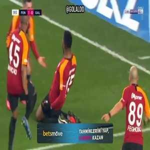 Fenerbahce 1-[1] Galatasaray - Ryan Donk 40'