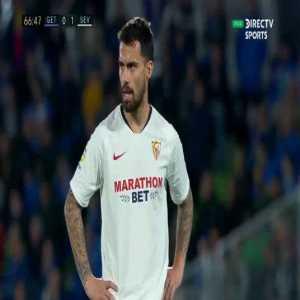 Getafe 0-[2] Sevilla - Fernando 69'