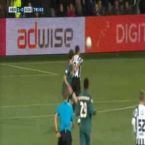 Heracles [1]-0 Ajax - C. Dessers 77' (Great strike)