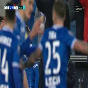 Lech Poznań [2]-0 Lechia Gdańsk - Filip Marchwiński 90' (18 y.o., Polish Ekstraklasa)