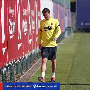 [Official] Sergi Roberto out for 3-4 weeks with muscular injury
