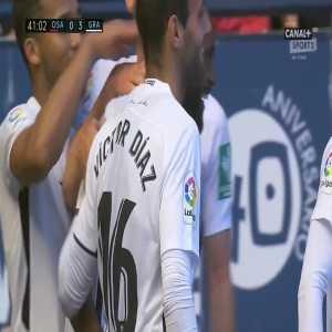 Osasuna 0-3 Granada - Dimitri Foulquier 41'