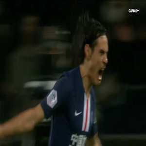 PSG [1] - 1 Bordeaux - Cavani 25'