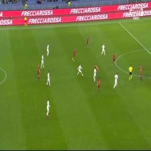 Roma 1-0 Lecce - Cengiz Ünder 13'