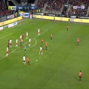 Stade Rennais [2]-1 Nîmes Olympique - M'baye Niang 89'