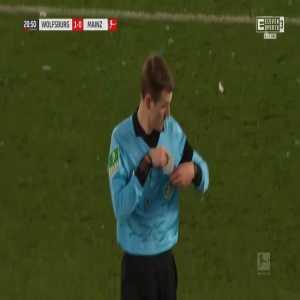 Wolfsburg 1-0 Mainz - Josip Brekalo 21'