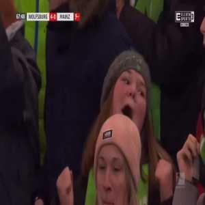 Wolfsburg 4-0 Mainz - Renato Steffen 68'