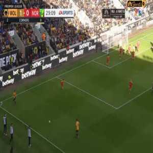 Wolves [2]-0 Norwich - Diogo Jota 29'