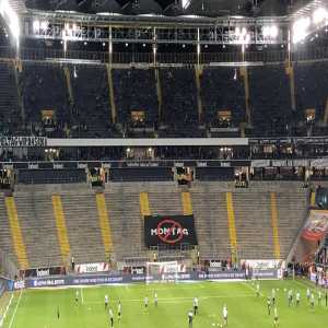 Eintracht Frankfurt fans boycott game against Union Berlin in protest against Monday night football