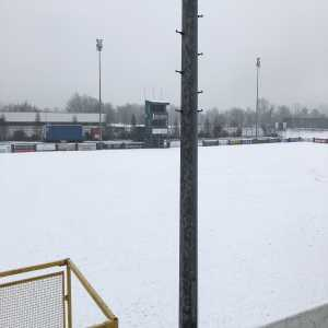 Finn Harps vs Shelbourne in the League of Ireland Premier Division has been called off, with Finn Park becoming a winter wonderland overnight