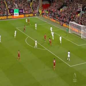 Liverpool [2] - 2 West Ham - Salah 68'