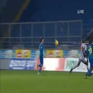 Rizespor 0-1 Basaksehir - Edin Visca penalty 43'