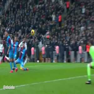 The amazing saves of Ugurcan Cakir (23 years old) that made his club Trabzonspor get a draw against Besiktas away with his MOTM performance
