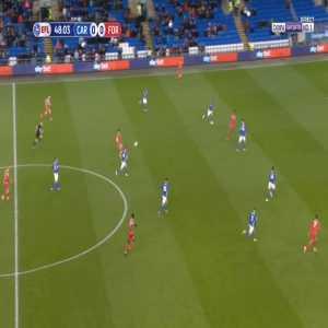 Cardiff 0-1 Nottingham Forest - Tiago Silva 49'