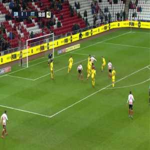Sunderland 1-1 Fleetwood Town - Max Powers 90'+7