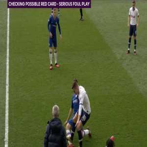 VAR Official David Coote has been dropped from Premier League duty this weekend, after missing an obvious red card for Giovani Lo Celso's challenge on Cesar Azpilicueta on Saturday.