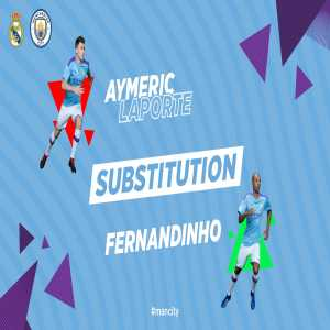Aymeric Laporte subbed off because of an injury vs Real Madrid