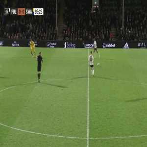Fulham 1-0 Swansea: Mitrovic 90+4'
