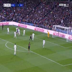 Real Madrid 1 - [1] Manchester City - G. Jesus 78'