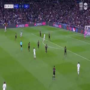 Vinícius Júnior missed opportunity vs Manchester City