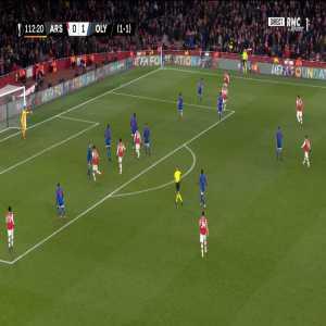 Arsenal [1] - 1 Olympiakos [2-1 on agg.] - Aubameyang 113'