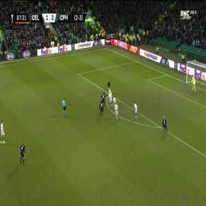 Celtic 1 - [3] FC Copenhagen [2-4 on agg.] - N'doye 88'