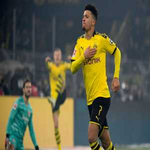 7 - Jadon @Sanchooo10 has scored in 7 consecutive home games for @BlackYellow in the #Bundesliga, only Pierre-Emerick Aubameyang has ever had a longer run for them (11). Unstoppable. #BVBSCF - OptaFranz