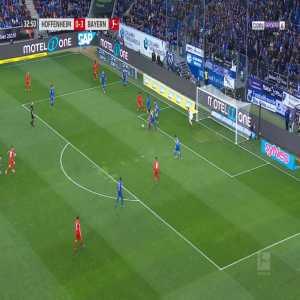 Hoffenheim 0-4 Bayern München - Coutinho 33'