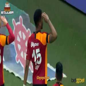 Galatasaray [1] - 0 Gençlerbirliği, 3' Donk