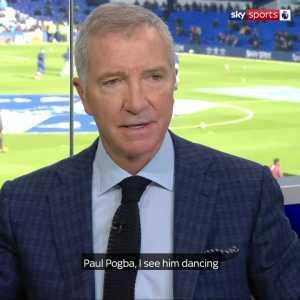 "Graeme Souness: ""Paul Pogba. I see him dancing at a wedding. I see him shooting hoops."""