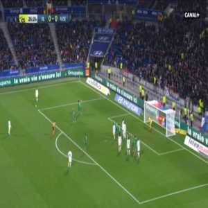 Lyon 1-0 Saint-Etienne - Moussa Dembele 27'