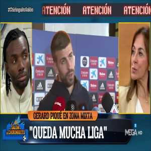 """Pique: """"To my knowledge, Messi was 100%."""""""