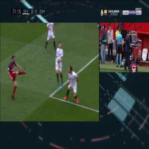 Sevilla 2-[2] Osasuna - Roberto Torres 74' Penalty