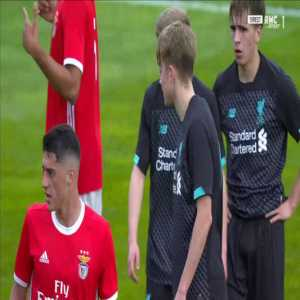 Vitezslav Jaros (Liverpool U19) penalty save against Benfica U19 45'+1'