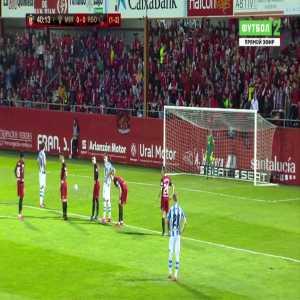 Mirandes 0-1 Real Sociedad [1-3 on agg.] - Mikel Oyarzabal penalty 41'